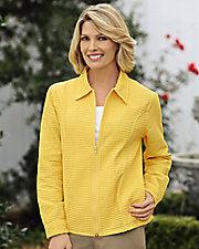 Waffle Weave Jacket