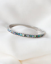 Diamond Cut Hinged Bracelet