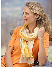 Seamless Transition Ombre Scarf