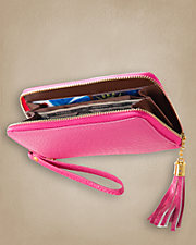 Hold It Tassel Zipper Wallet
