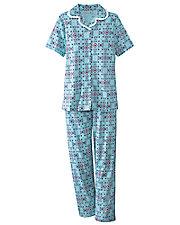 Texture Knit Pajamas