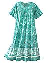 Printed Cambric Dress