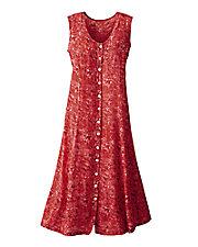 Challis Batik Dress