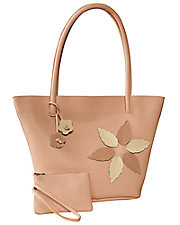 Floral Applique Handbag