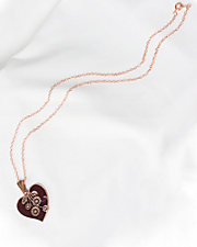 Blossoming Heart Necklace