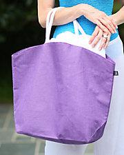 Solid Jute Tote Bag