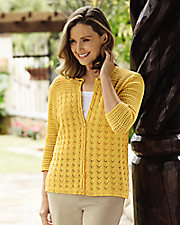 Crocheted Cardigan