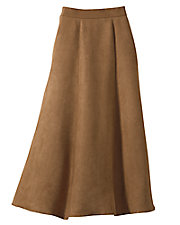 Polyester Suede Skirt