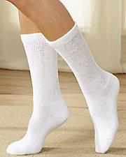 Bind-Free Diabetic Crew Socks