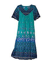 Ocean Breeze Crinkle Dress