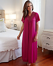 Beloved Long Short Sleeve Gown
