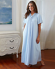 Beloved Long Short Sleeve Robe