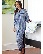 Flannel Ski Pajamas