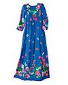 Long Polyester Slip-on Dress