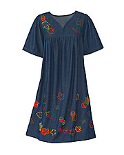 Autumn Denim Dress