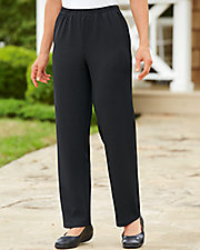 Carefree Textured Knit Pants