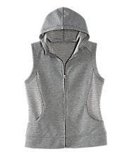 Zip Hoodie Vest