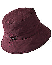 Adjustable Quilted Bucket Hat