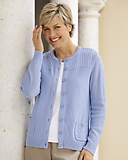 Catalina Button-Front Cardigan