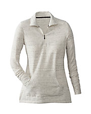 Comfortwear Long Sleeve ½ Zip Mock