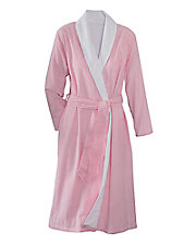 Terry Lined Wrap Robe