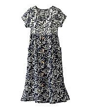 Floral Gauze Dress