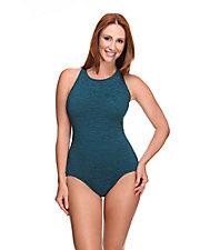 Mastectomy High Neck Swimsuit
