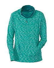 Sea Breeze Long Sleeve Cowl Pullover