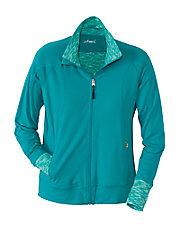 Sea Breeze Zip Front Jacket