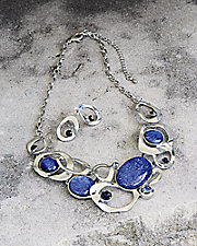 Silver Midnight Necklace Set