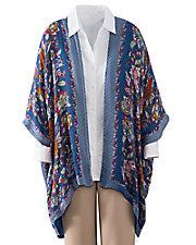 Floral Scarf Jacket