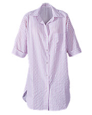 Striped Woven Nightshirts