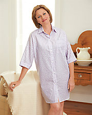 Striped  Nightshirts