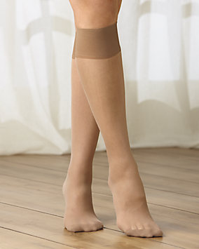 Support Cotton Sole Knee High