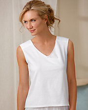 Padded Shoulder Cotton Backing Camisole