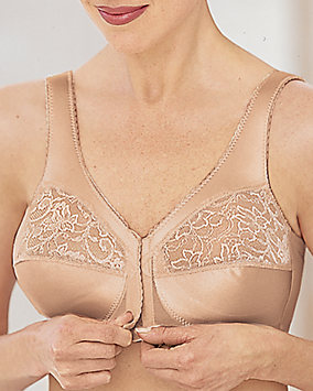 Magic Lift® Front Closure Soft-Shoulder Support Bra