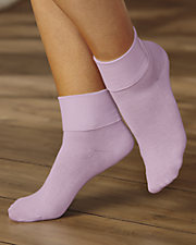 Pima Cotton-Nylon-Spandex Socks