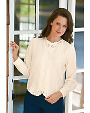 Long Sleeve Weskit Blouse