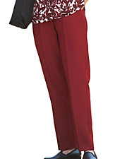 Comfort Waist Gabardine Pants