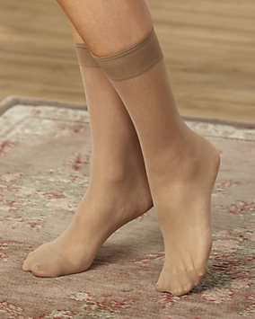Non-Run Sheer Ankle Hi