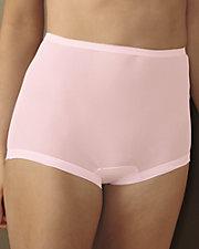 Nylon Cuff Leg Panty