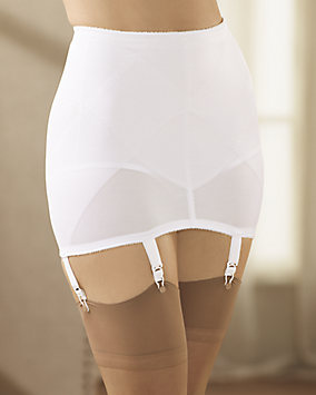 Gartered Open Bottom Girdle