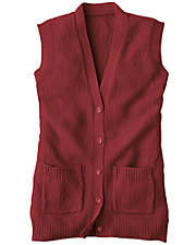 Scramble Stitch Sweater Vest