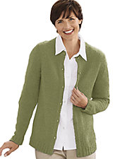 Boucle Cardigan Sweater