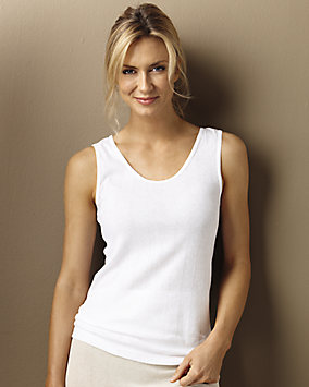 100% Cotton Rib Knit Camisole