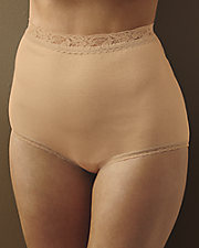 Lace-Trimmed Baby Soft Briefs