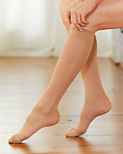 Therapeutic Support Microfiber Knee High