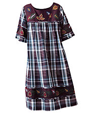 Embroidered Cotton Dresses