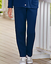 Fleece Elastic Waist Pants