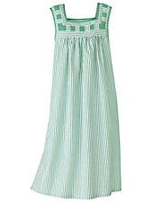 Striped Patio Dress